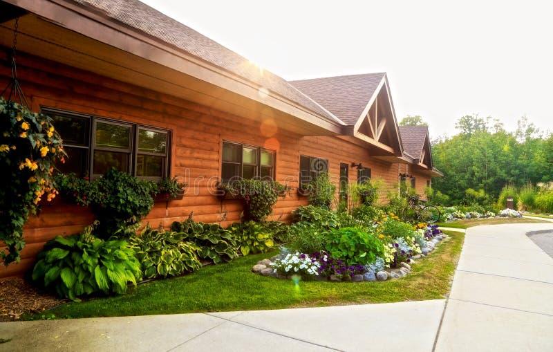 Sugar Lake Lodge Minnesota lizenzfreies stockfoto