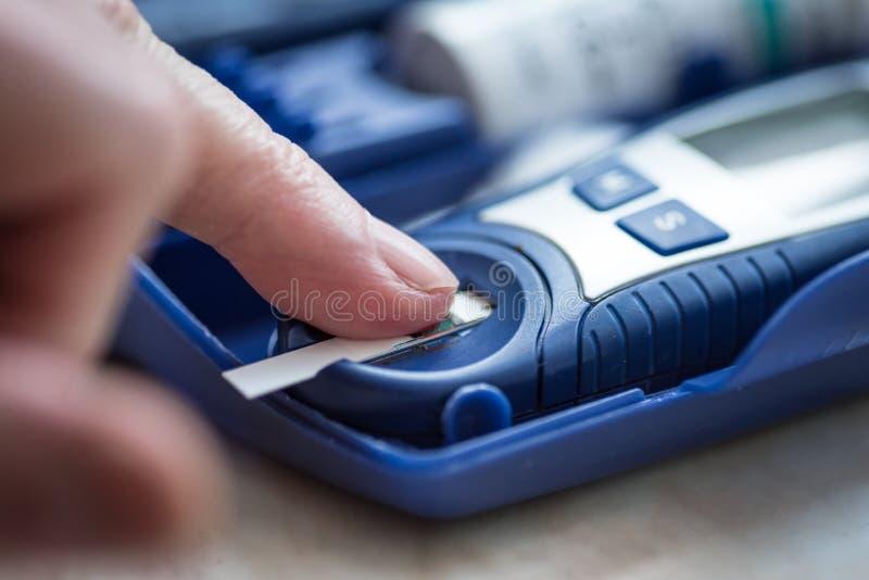 Download Sugar Level In Blood Metering Stock Photo - Image: 83710042