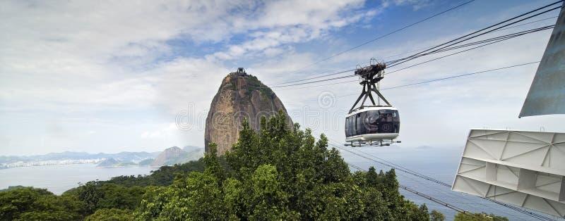 Sugar Loaf-Berg - Brasilien stockfoto