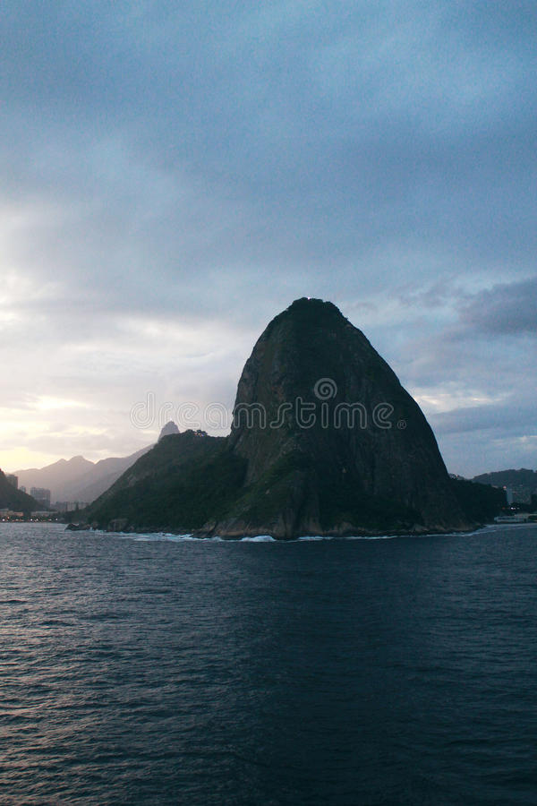 Sugar Loaf in Rio de Janeiro, Brazil stock image