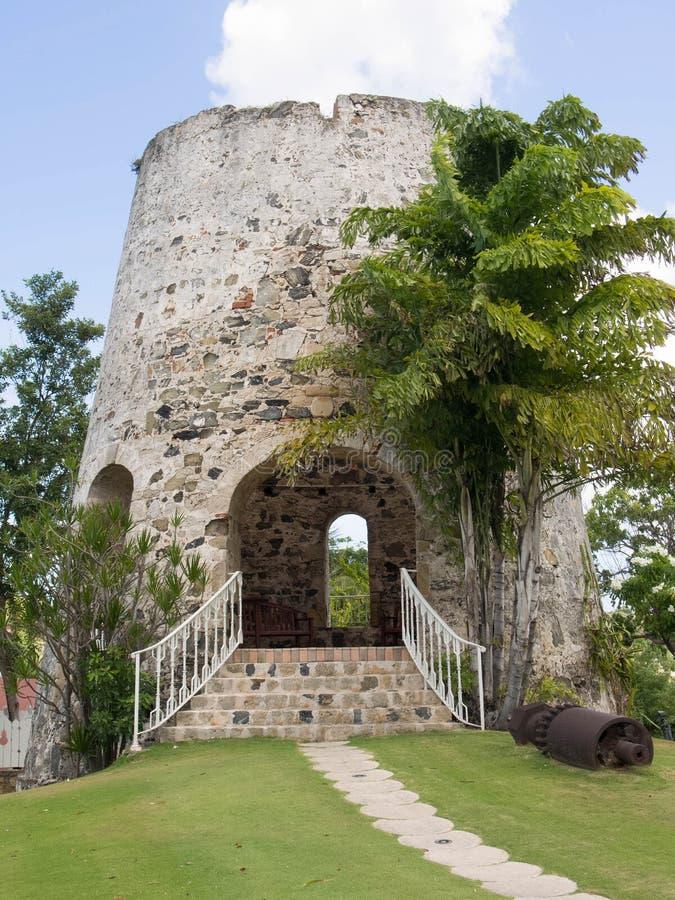 Sugar Mill avec un escalier photos stock