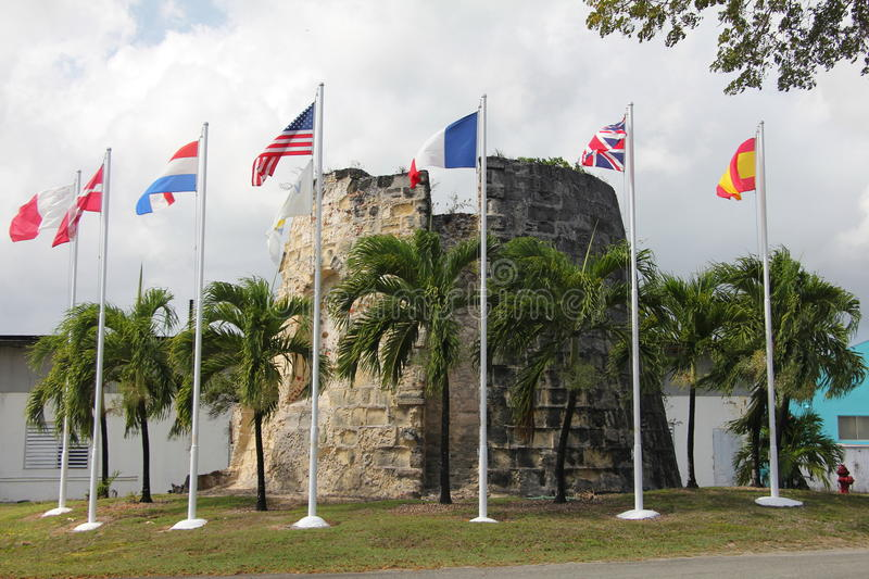 Download Sugar Mill Flags stock photo. Image of flags, islands - 30515184