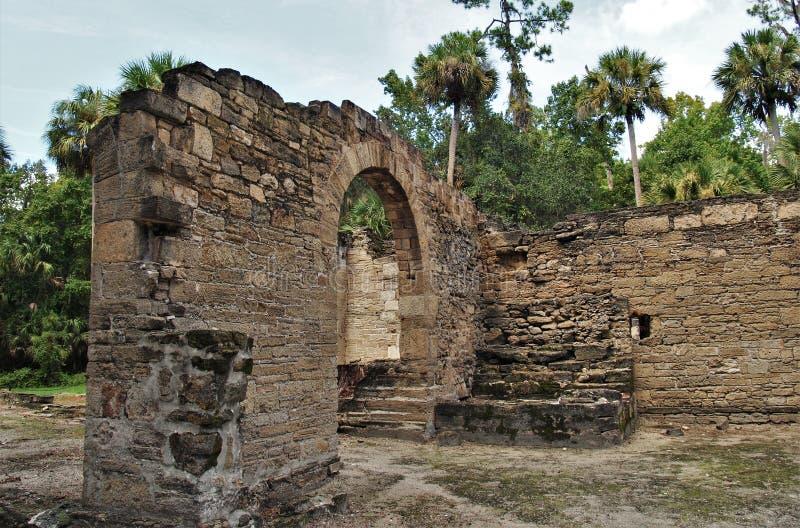 Sugar Mill Ruins foto de stock royalty free