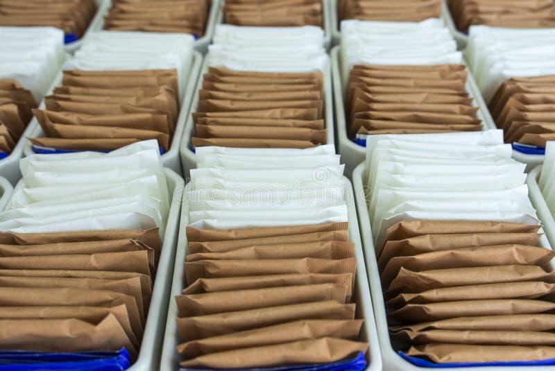 Sugar Packet imagens de stock royalty free