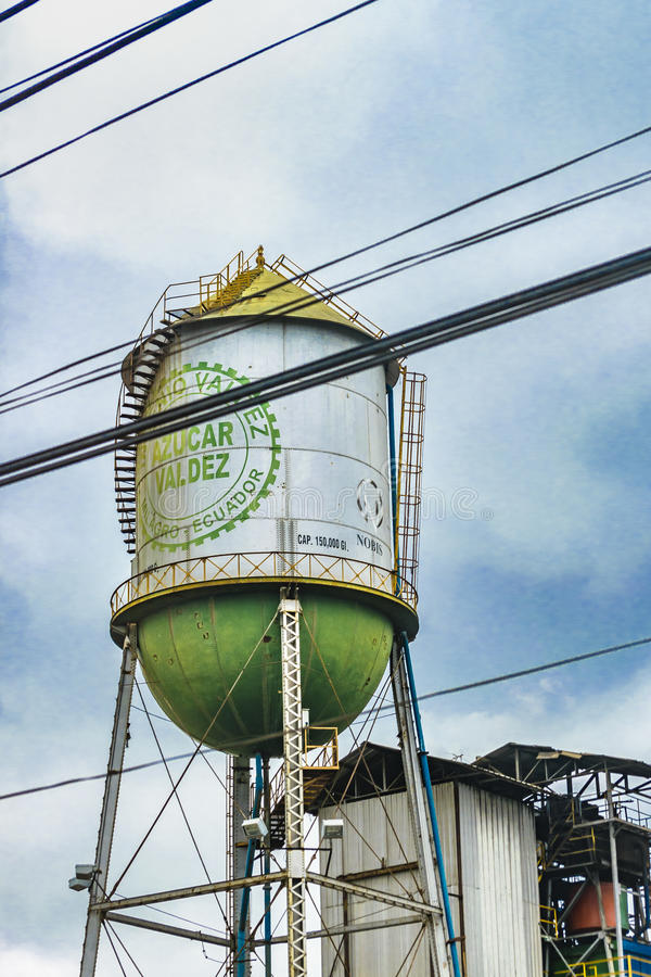Sugar Refinery Building Detail View royalty free stock photos