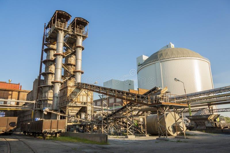 Sugar-refinery royalty free stock image