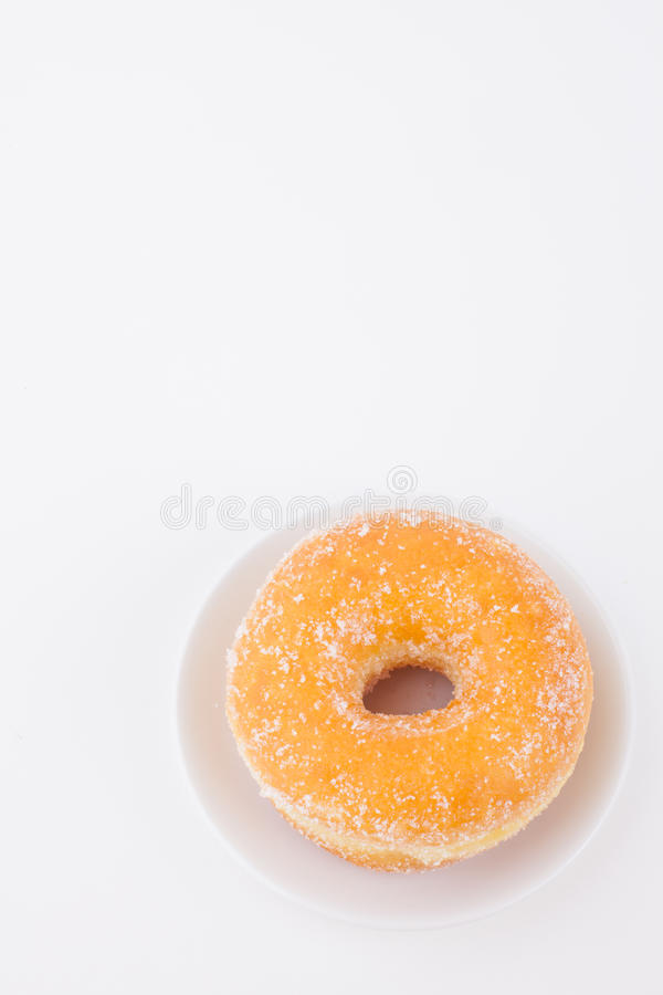 Sugar Ring Donut délicieux photographie stock
