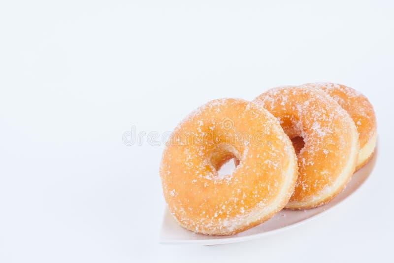 Sugar Ring Donut délicieux image libre de droits