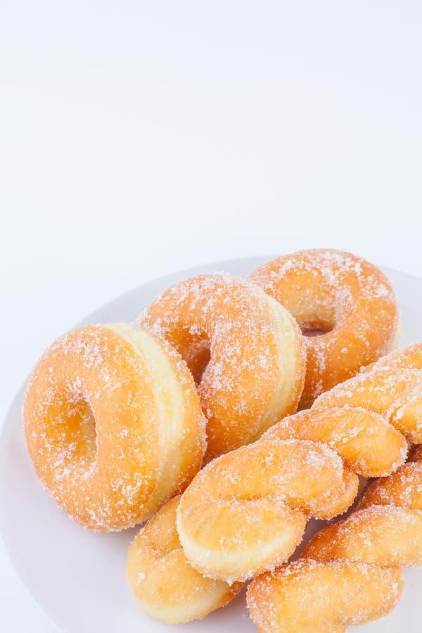 Sugar Ring Donut delicioso fotografía de archivo libre de regalías