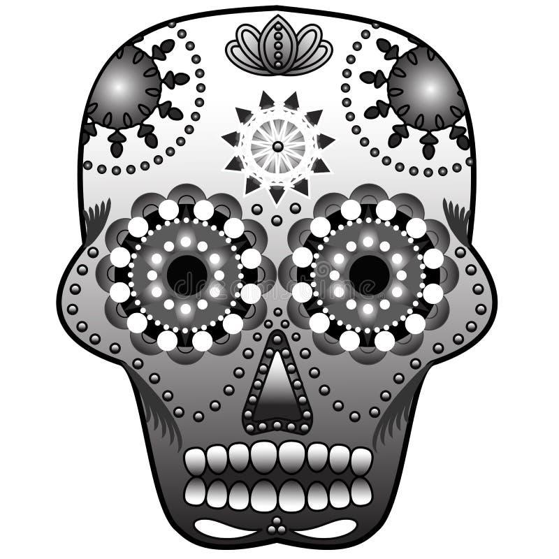 Download Sugar Skull stock vector. Image of lotus, sugar, pattern - 22063395