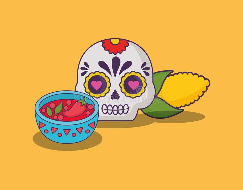Mexican food design vector illustration