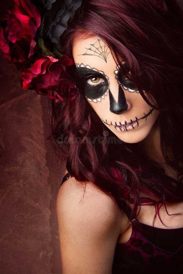 Sugar skull royalty free stock photos