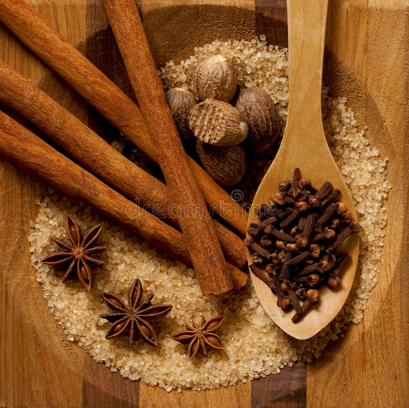 Download Sugar and Spice stock image. Image of anise, sugar, clove - 18888679