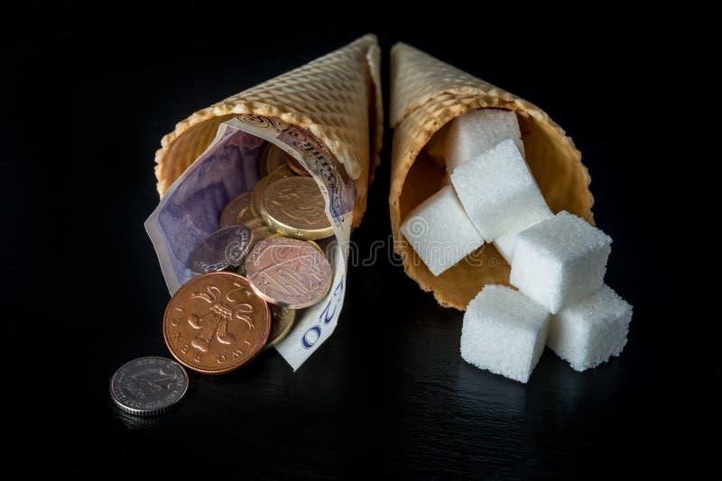Sugar Tax stockbilder