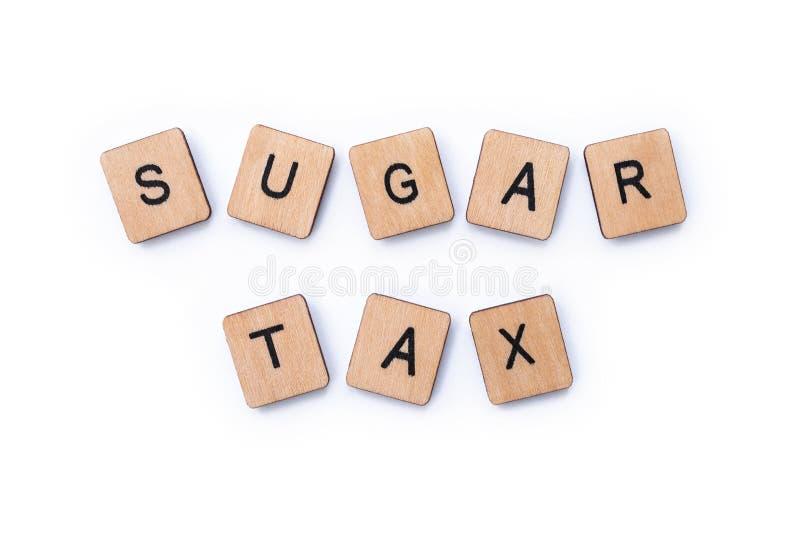 Sugar Tax image libre de droits
