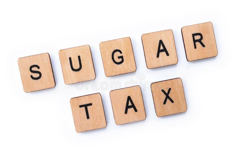 Sugar Tax images stock