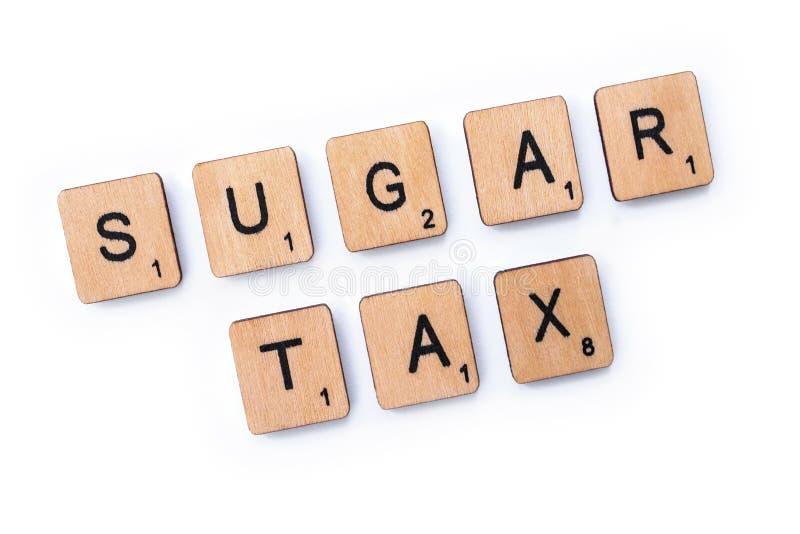 Sugar Tax royalty-vrije stock foto's