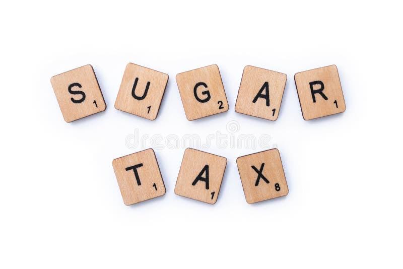 Sugar Tax lizenzfreie stockfotografie