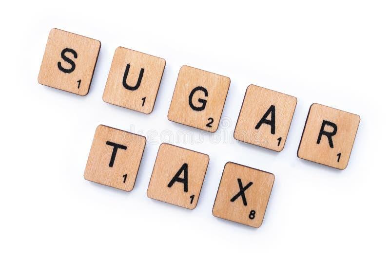 Sugar Tax stockfotos
