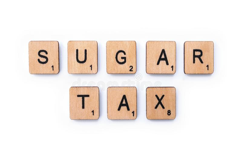 Sugar Tax photos libres de droits