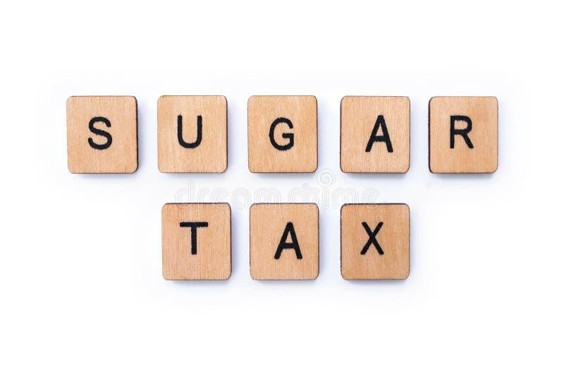 Sugar Tax stock foto