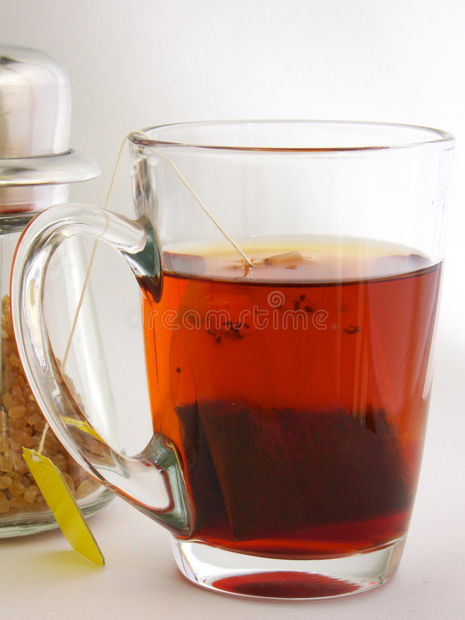 Sugar And Tea Stock Photography