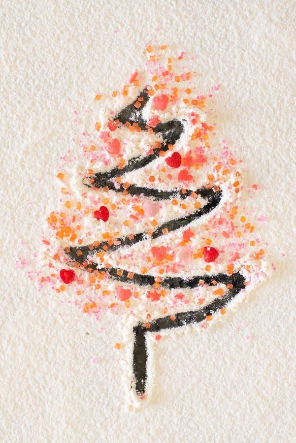 SUGAR TREE FOR CHRISTMAS royalty free stock photo
