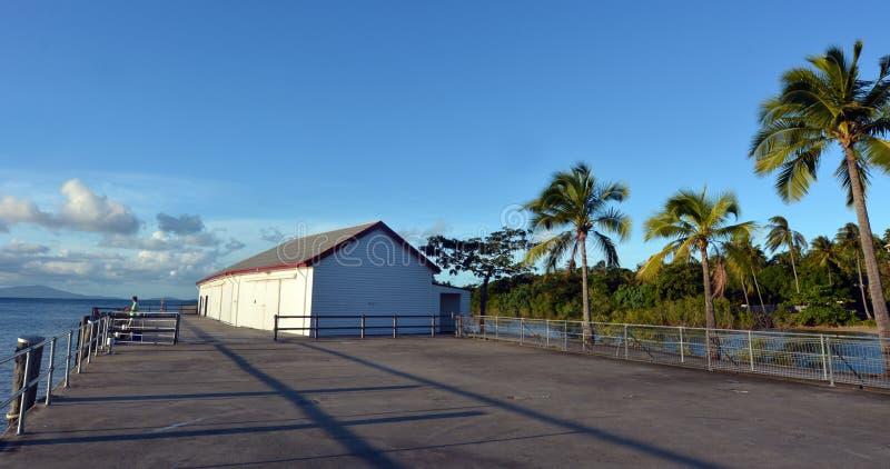 Sugar Wharf in porto Douglas Queensland Australia immagine stock libera da diritti
