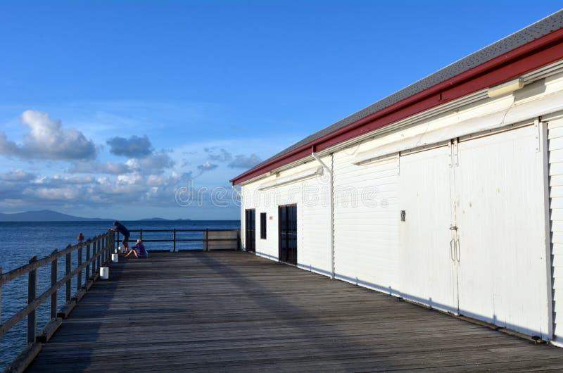 Sugar Wharf in porto Douglas Queensland Australia immagine stock