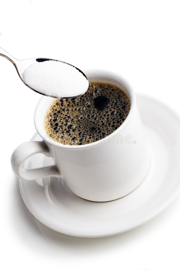 Sugar with your coffee? stock photography
