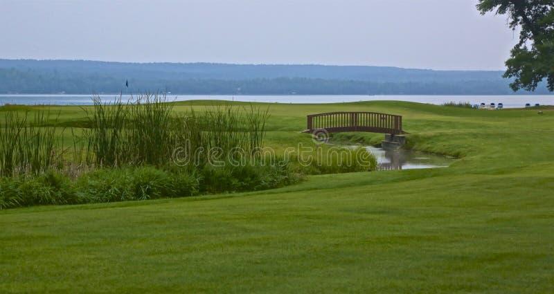 Sugarbrooke-Golfplatz lizenzfreies stockfoto