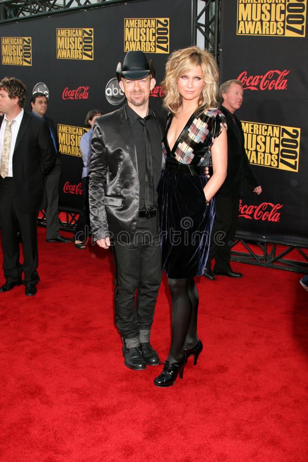 Sugarland. American Music Awards 2007.Nokia Theater.Los Angeles, CA.November 18, 2007.2007 Kathy Hutchins / Hutchins Photo stock photos