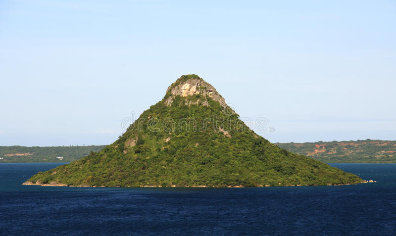 Sugarloaf. The Sugarloaf in Antsiranana Bay, Northern Madagascar royalty free stock photo
