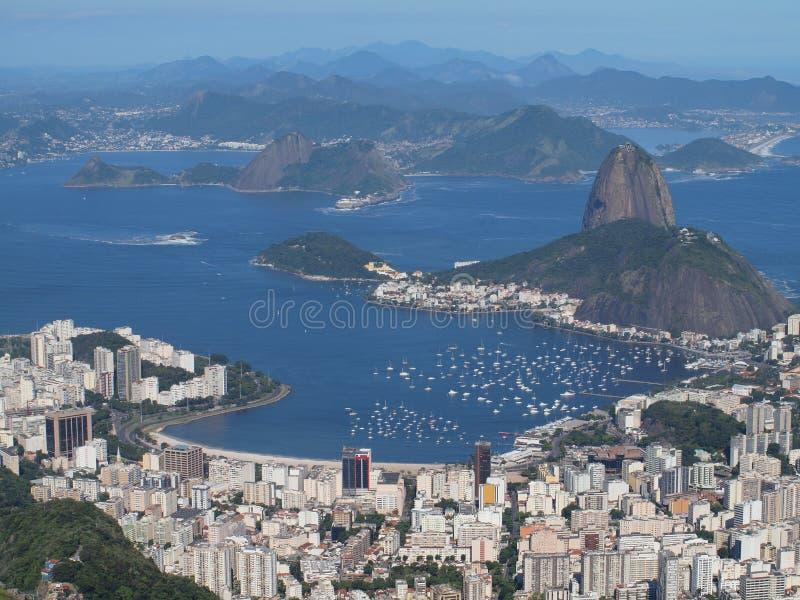 Download Sugarloaf and botafogo bay stock image. Image of mountains - 22574195