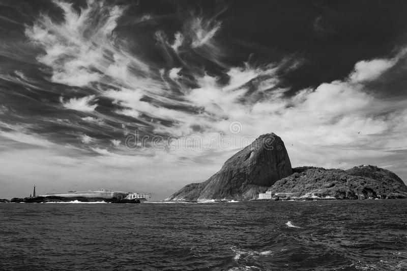 Download Sugarloaf Mountain stock image. Image of white, black - 19982693