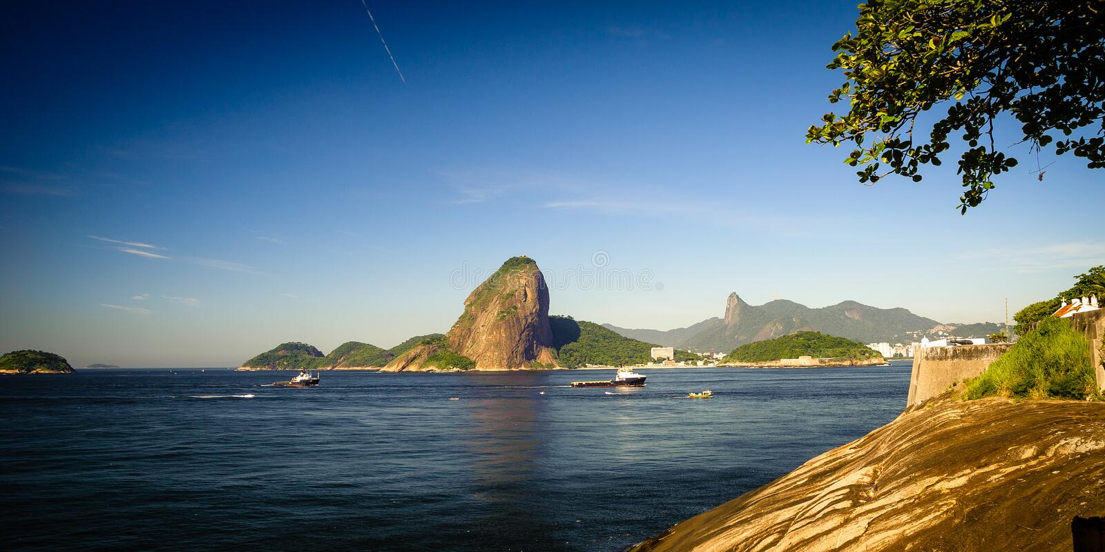 Download Sugarloaf Mountain stock photo. Image of brazil, photography - 33095580