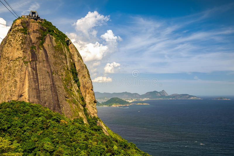Download Sugarloaf Mountain stock photo. Image of cable, brazil - 33096546
