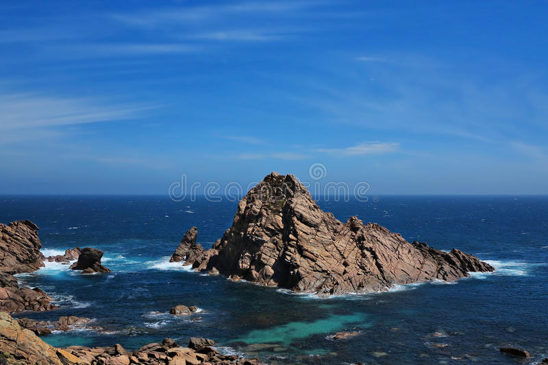 Sugarloaf Rock. Western Australia, Australia stock photos