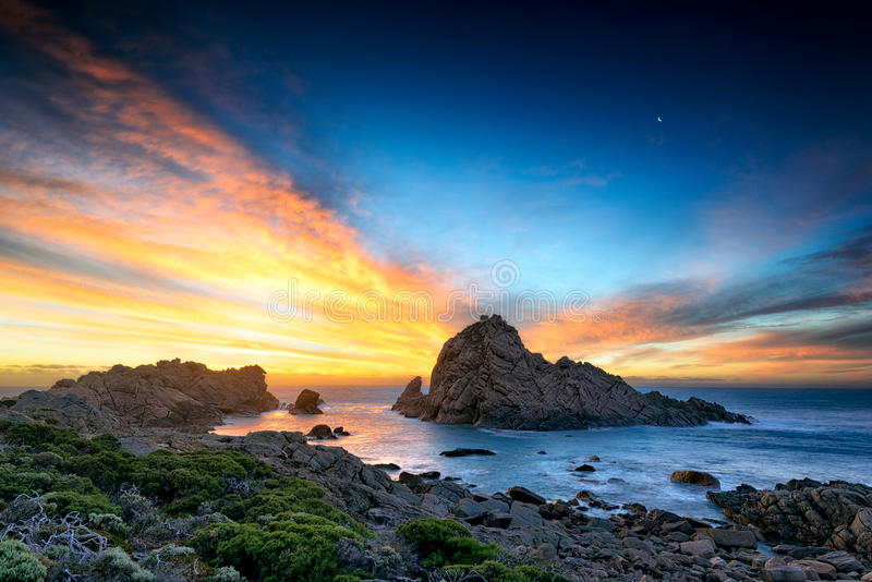 Sugarloaf Rock. Donsborough, Western Australia, Australia royalty free stock photo