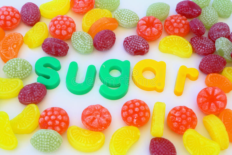 Suger photographie stock