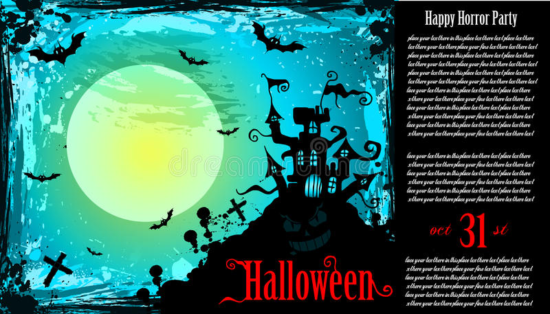 Download Suggestive Hallowen Party Flyer Stock Vector - Illustration: 16539011