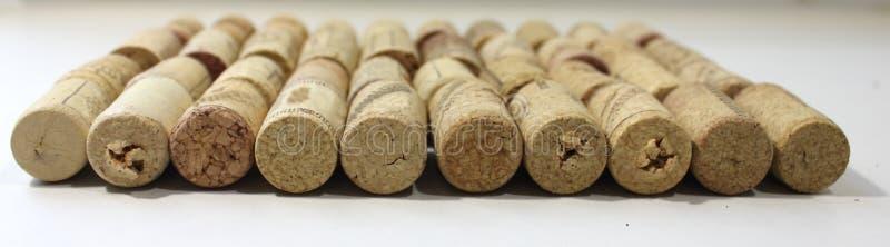 Sughero da vino fotografie stock