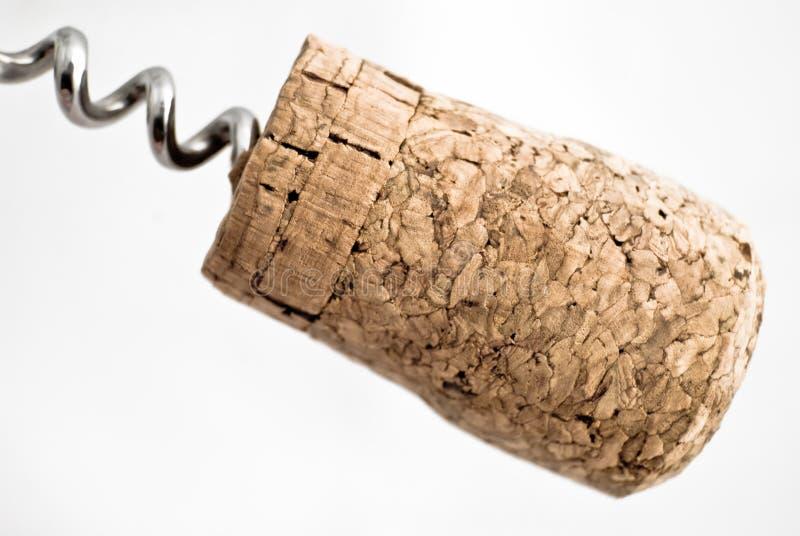 Sughero del vino immagini stock libere da diritti