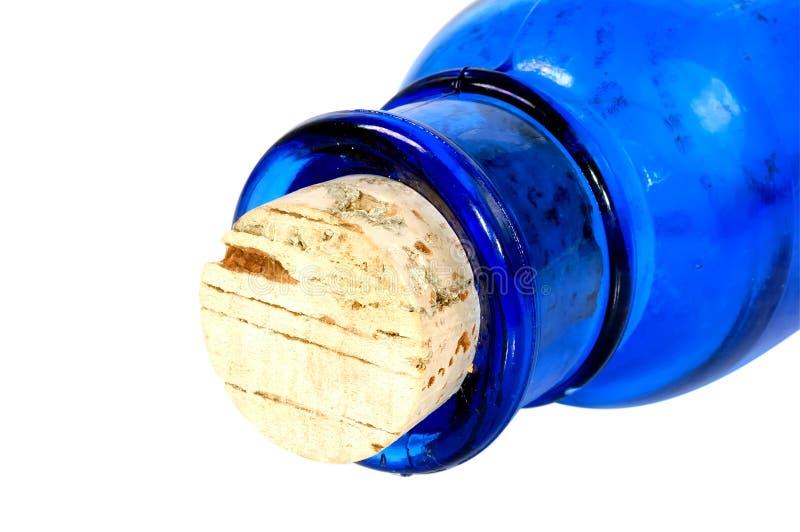 Sughero della bottiglia fotografia stock libera da diritti
