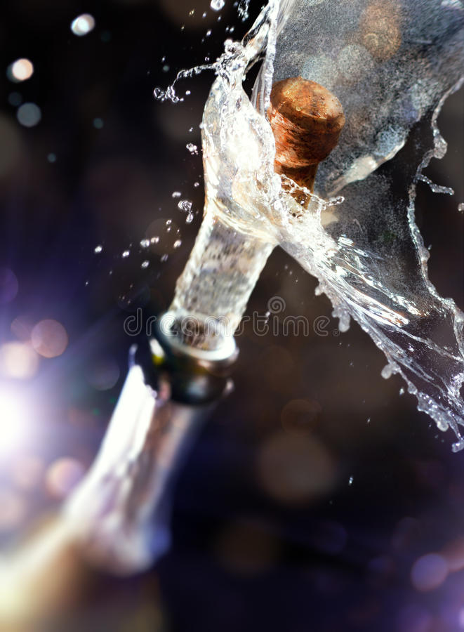 Sughero di Champagne fotografia stock libera da diritti