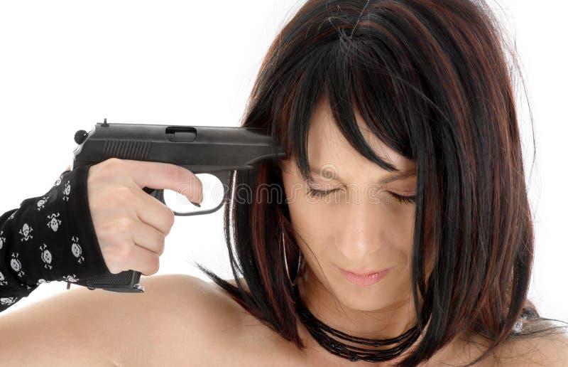 Suicídio imagens de stock