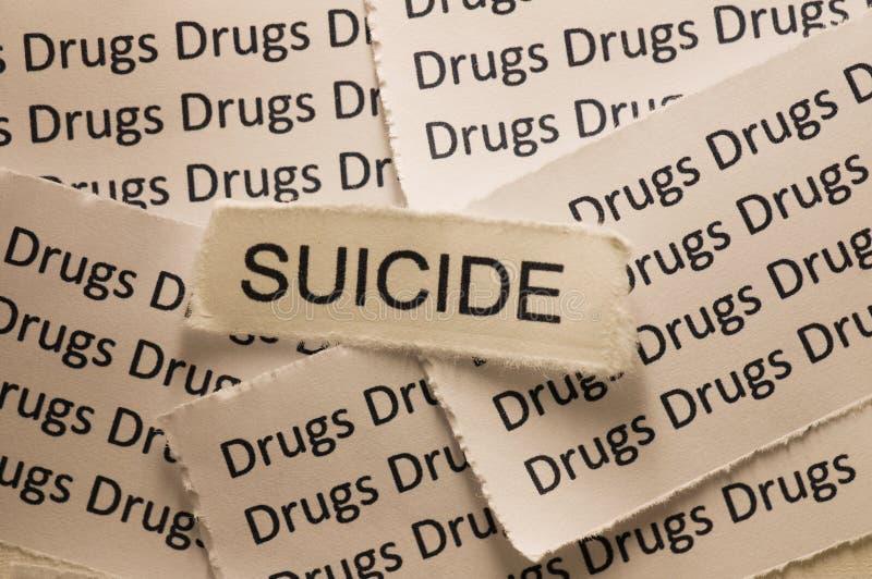 Suicidio foto de archivo