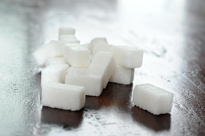 Suiker royalty-vrije stock foto