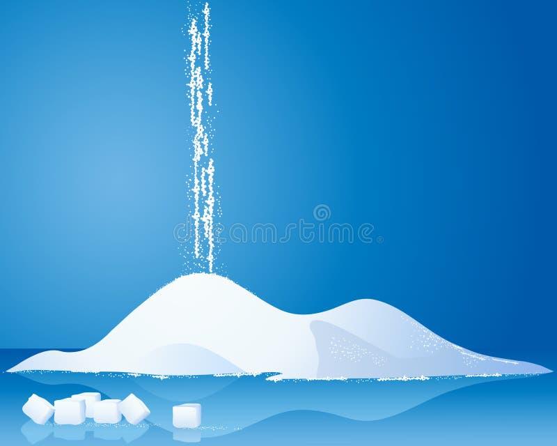 Suiker vector illustratie