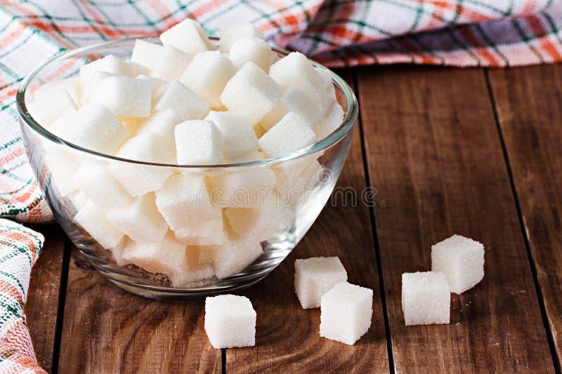Suikerclose-up stock afbeeldingen